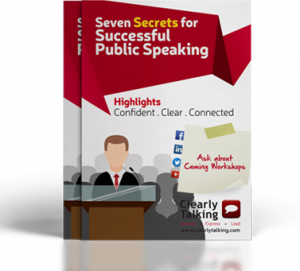 Picture of the Seven Secrets for Successful Public Speaking Publication