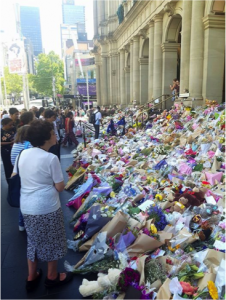 Melburnians Express Grief at the Bourke Street Tragedy Feb 2017