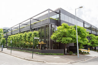 Regus Offices in Box Hill viewed from the corner of Prospect & Young Streets